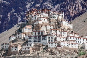 Key gompa klooster in Nepal